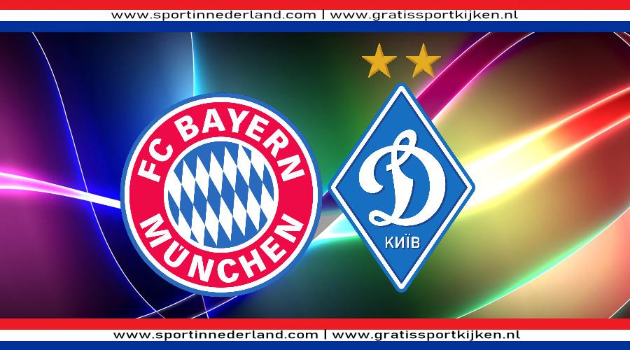 FC Bayern München - Dynamo Kiev gratis livestream