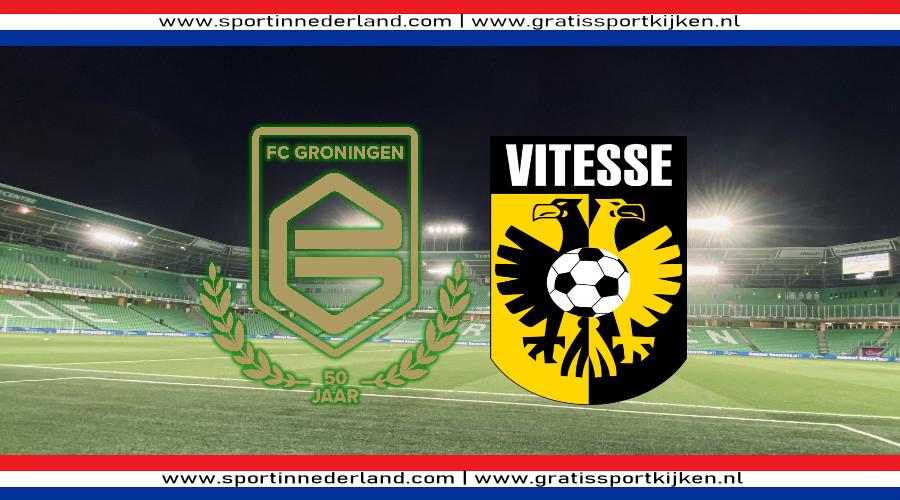FC Groningen - Vitesse kijken via een gratis livestream