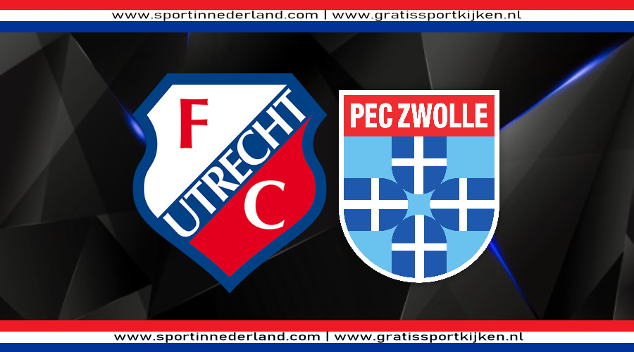 FC Utrecht - PEC Zwolle gratis livestream