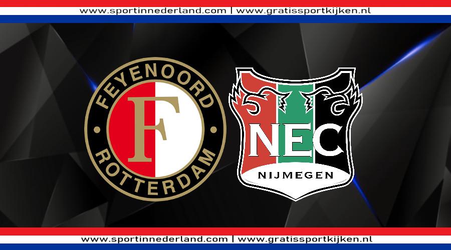 Feyenoord - NEC gratis livestream