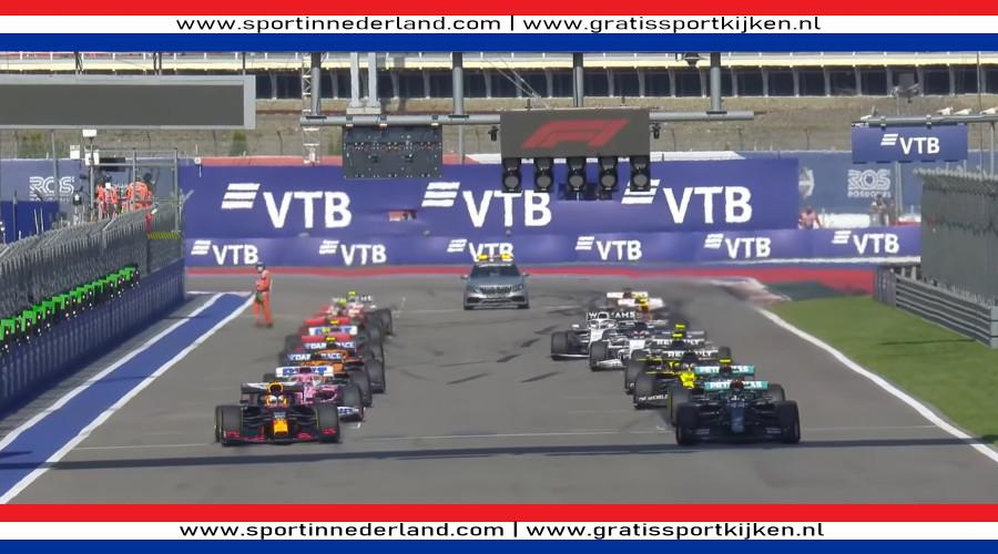 Formule 1 Grand Prix Rusland kijken via een livestream