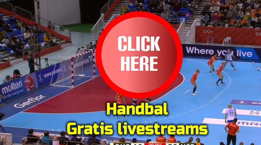 Handbal kijken via de Gratis Sport Kijken live stream