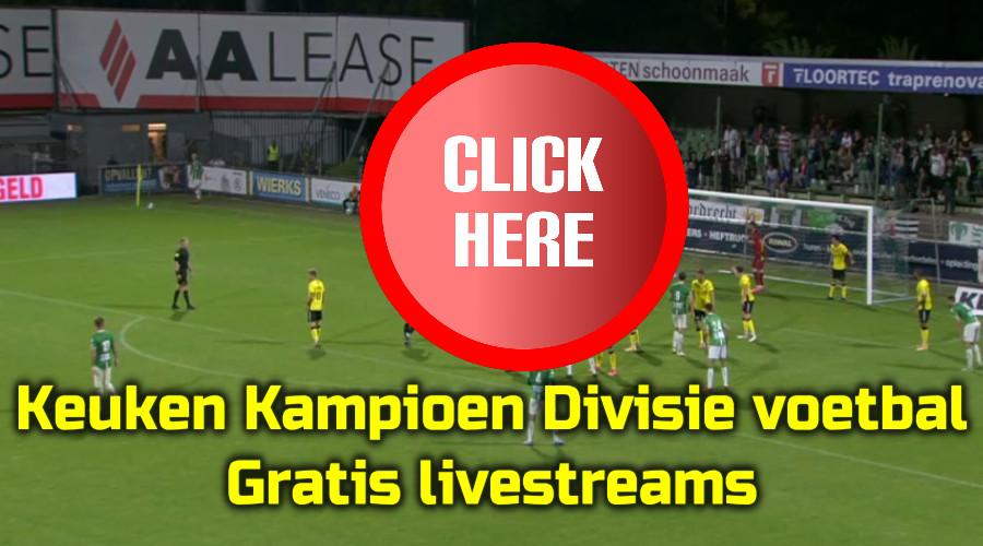 KKD voetbal kijken via de Gratis Sport Kijken live stream