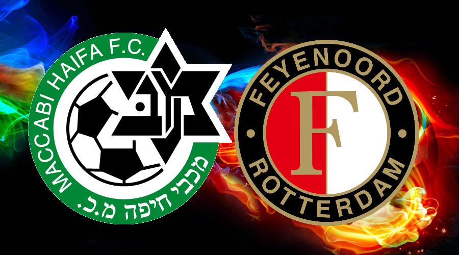 Kijk hier gratis Maccabi Haifa - Feyenoord