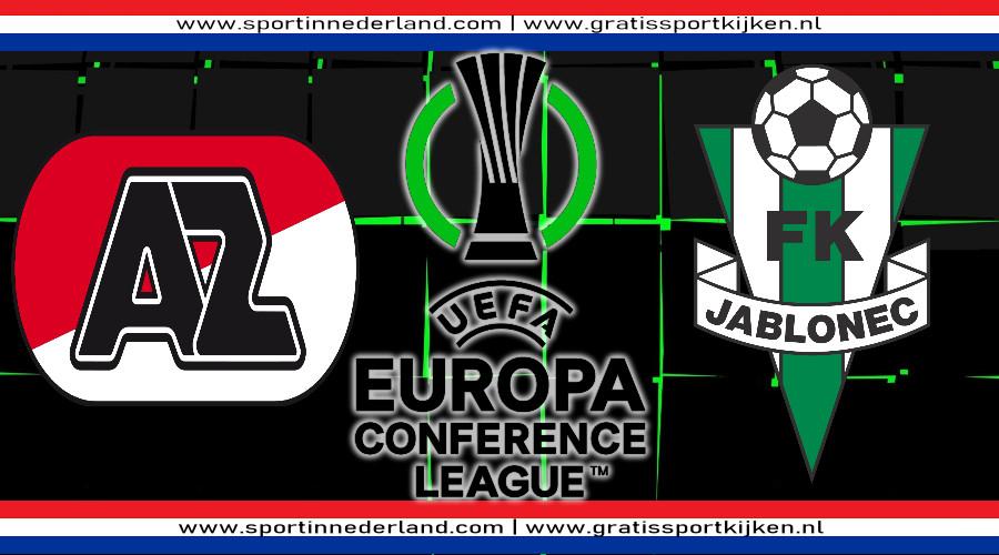 AZ - Jablonec kijken via een gratis live stream