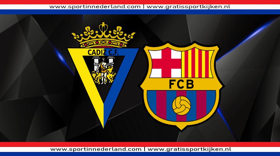 Live stream Cadiz - FC Barcelona