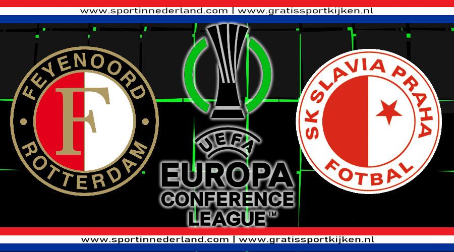 Feyenoord - Slavia Praag kijken via een gratis live stream