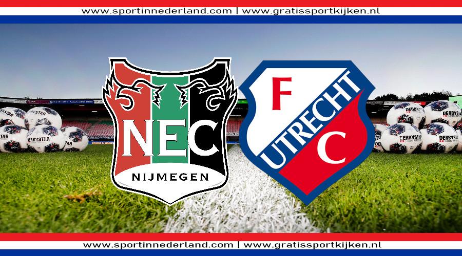 NEC - FC Utrecht kijken via een gratis livestream