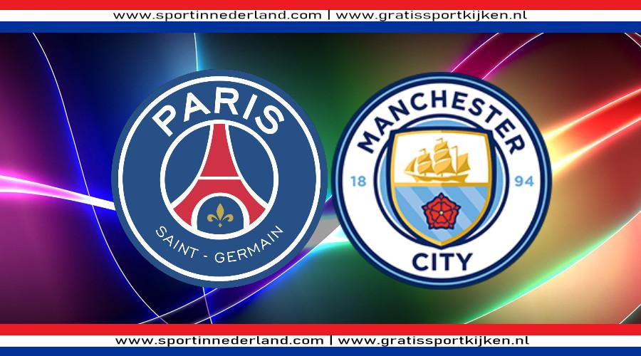 PSG - Manchester City gratis livestream