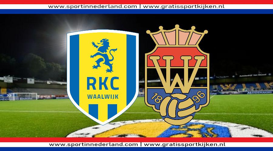 RKC - Willem II gratis live kijken via een livestream