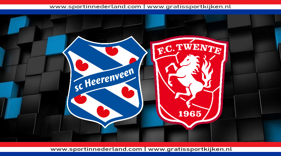 SC Heerenveen - FC Twente gratis livestream