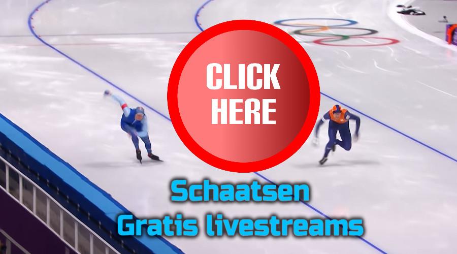Schaatsen kijken via de Gratis Sport Kijken live stream
