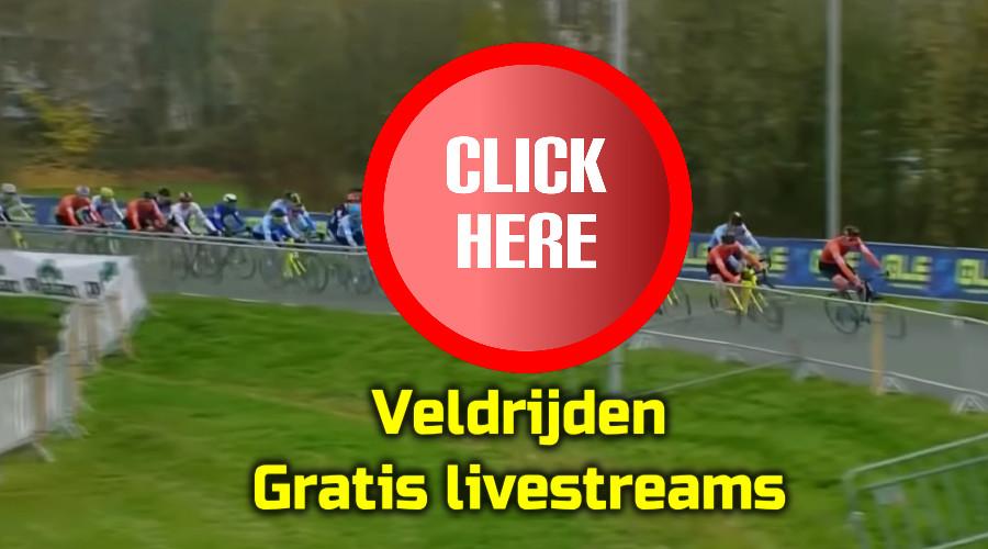 Kijk hier alle veldritten hier via een livestream. Want hier kan je nu veldrijden kijken via de Gratis Sport Kijken live stream.