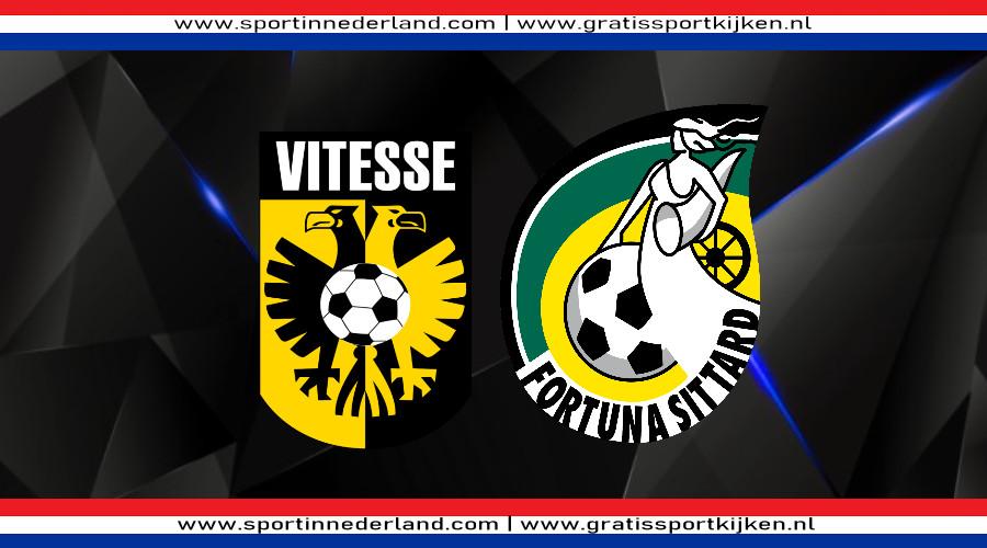 Vitesse - Fortuna Sittard gratis livestream