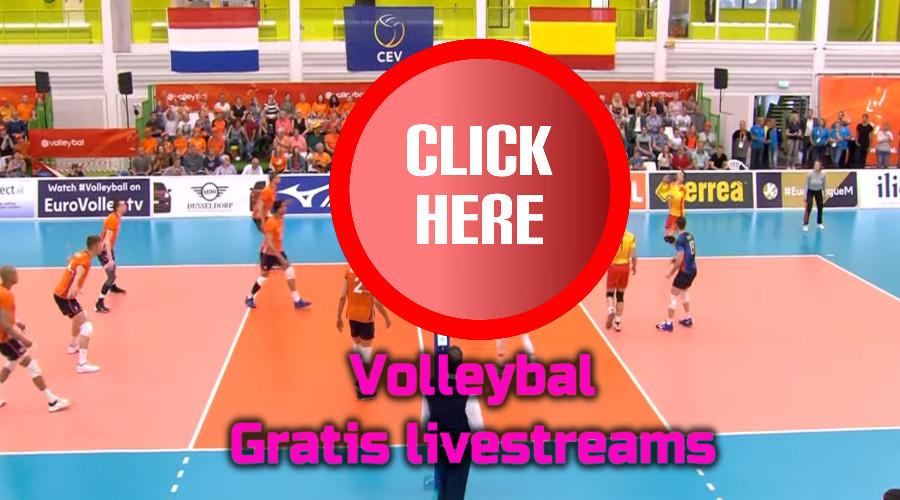 Volleybal kijken via de Gratis Sport Kijken live stream
