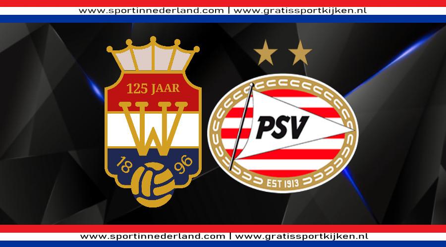 Willem II - PSV gratis livestream