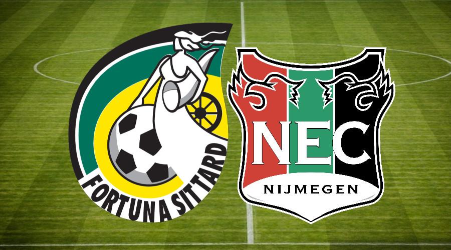 Gratis voetbal livestream Fortuna Sittard - NEC