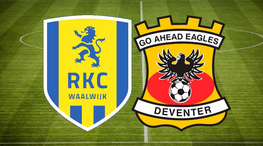 Gratis voetbal livestream RKC - Go Ahead Eagles